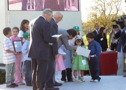 Gli alunni del III Circolo didattico premiati dal presidente della Repubblica Napolitano
